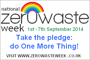 How could Zero Waste Week save you money?